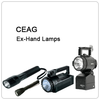 CEAG Ex-hand lamps